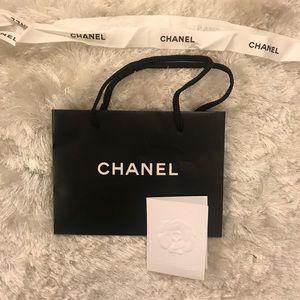 ec74165aec00 CHANEL Bags | Shopping Bag Gift Bag Paper Ribbon Card | Poshmark